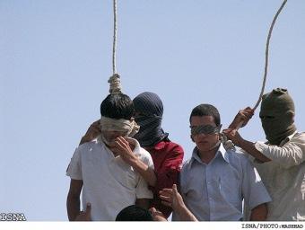 gay executed Iran