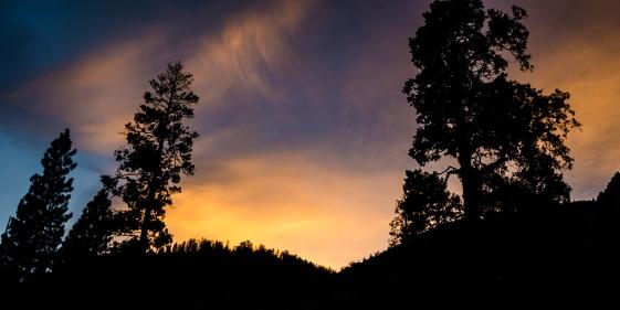 Sunset in Kings