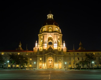 Pasadena City Hall Night